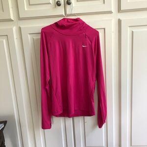 Hot pink running sweatshirt